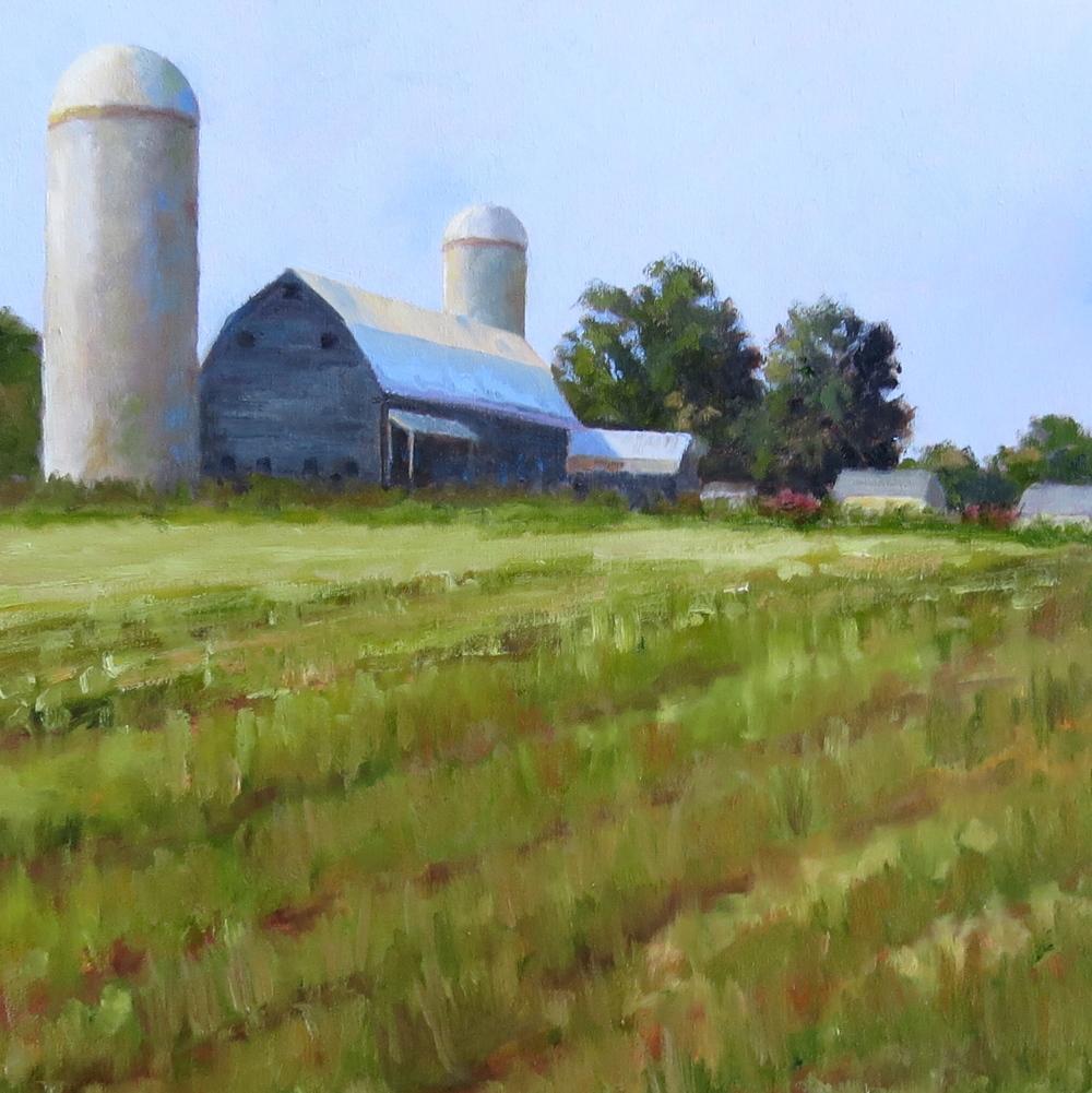 "Vermont Farm  20"" x 20"""