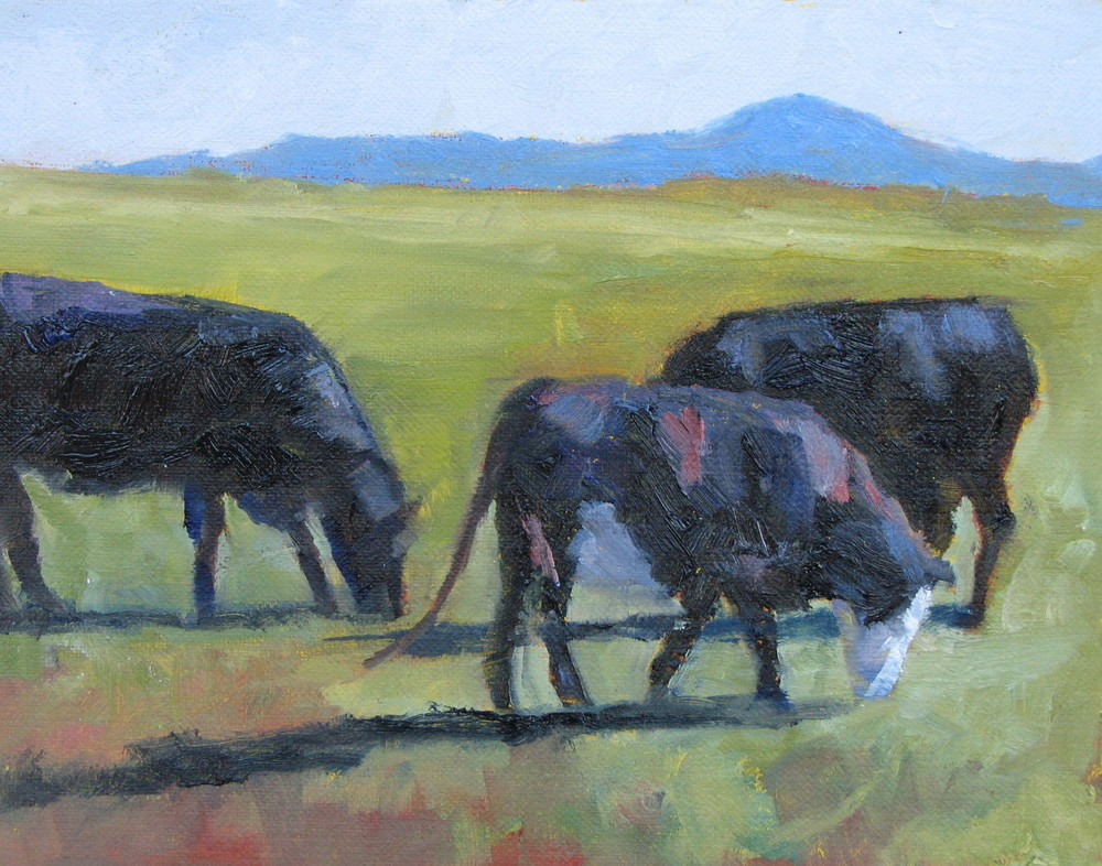 "Home On The Range  8"" x 10""  SOLD"