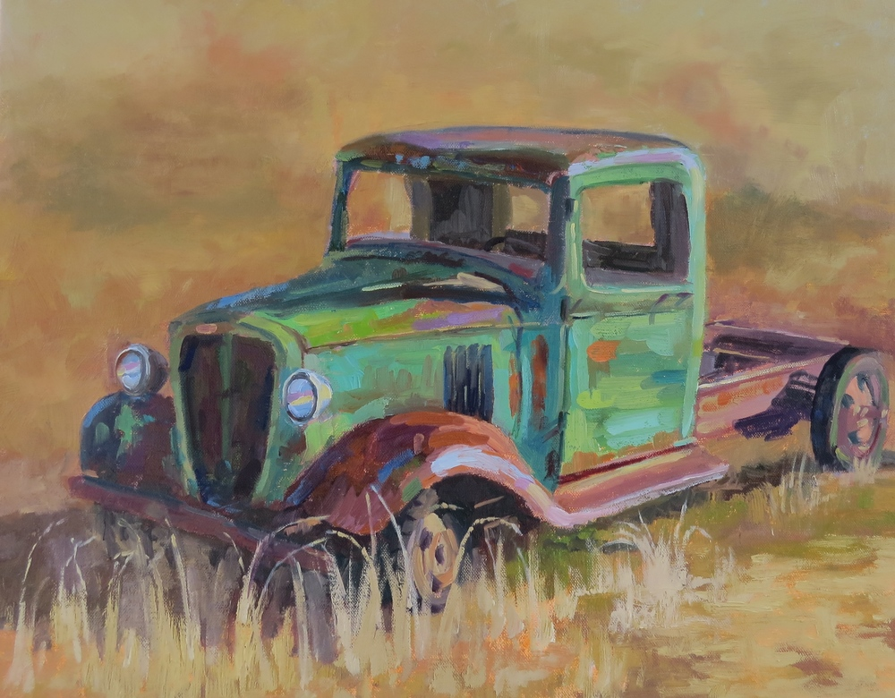 "Keep On Truckin'  16"" x 20""  SOLD"
