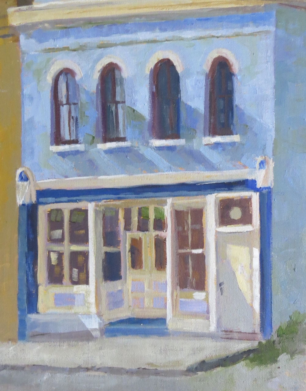 "Old Odd Fellows Building  14"" x 11"""