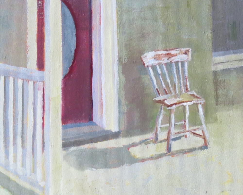 "Sweet, Little Chair  8"" x 10"""