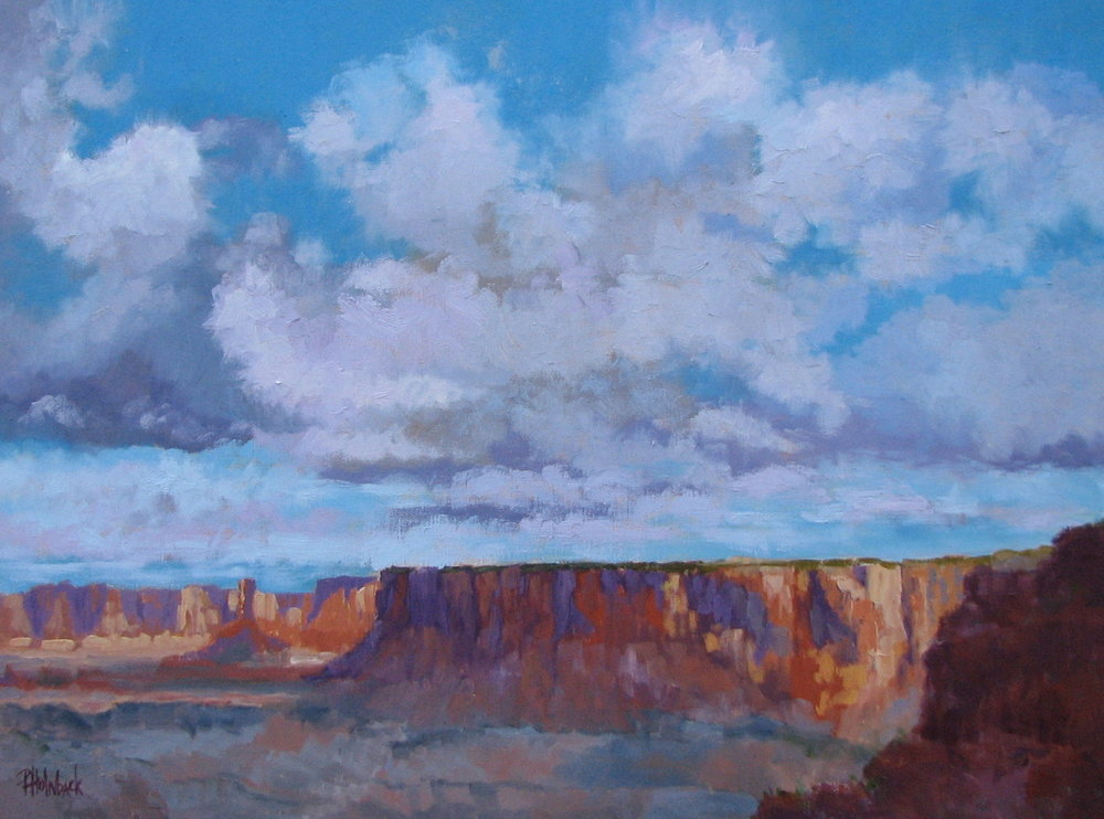 "Canyonlands After The Rain  18"" x 24""  SOLD"
