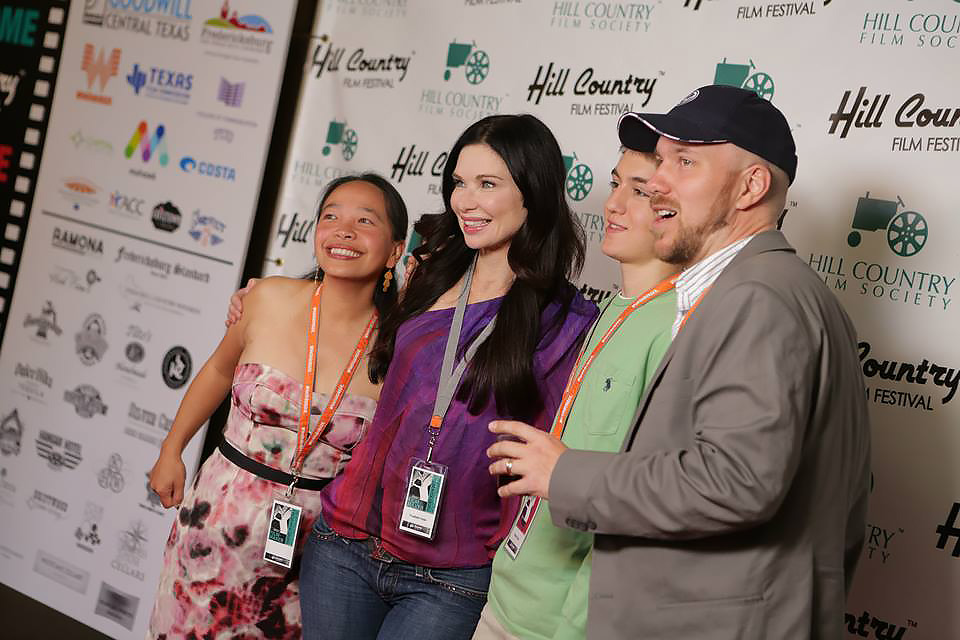 Nominated Best Actress at the Hill Country Film Festival