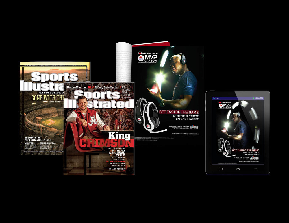 Sports Illustrated Print & Digital Ad