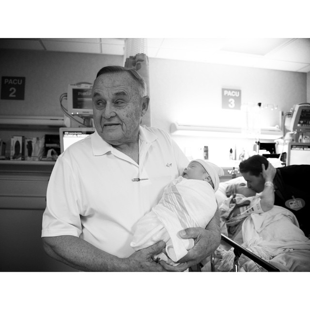#MaverickDasse #Baby #Newborn #Grandpa #NailedIt #NewbornPhotography #MavDesignHouse