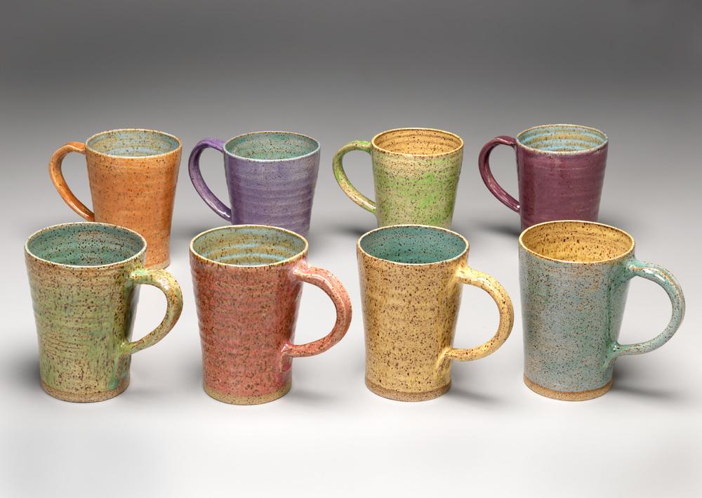 """Mugs: Stoneware  5"""" x 3.5 """""""