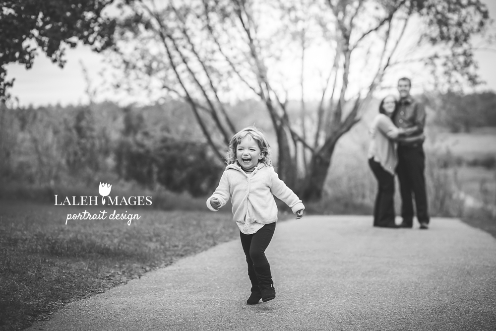 Toddler candid photo running