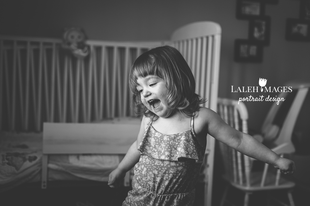 Dancing toddler photo