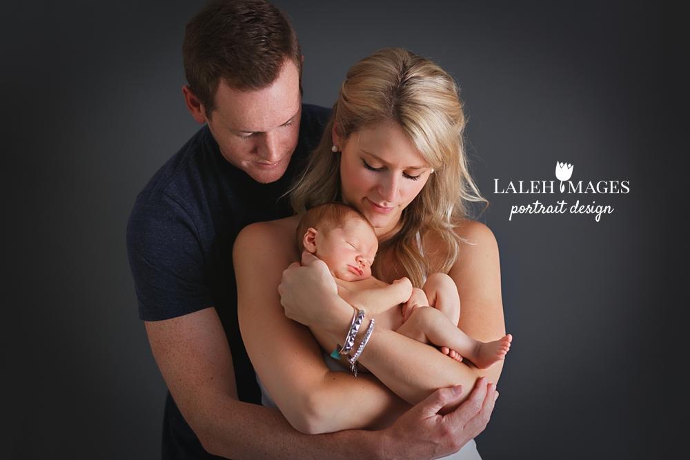 Newborn baby Ike Family