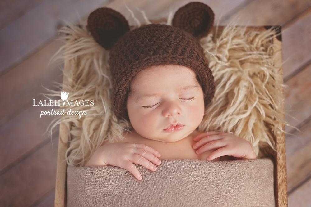 Newborn baby Aidan