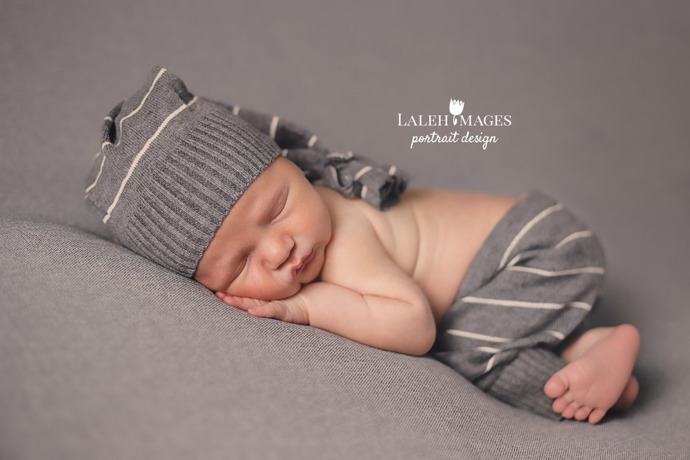 Newborn session upcycled prop