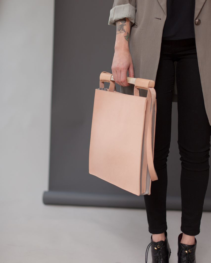 NATURAL SQUARE BAG
