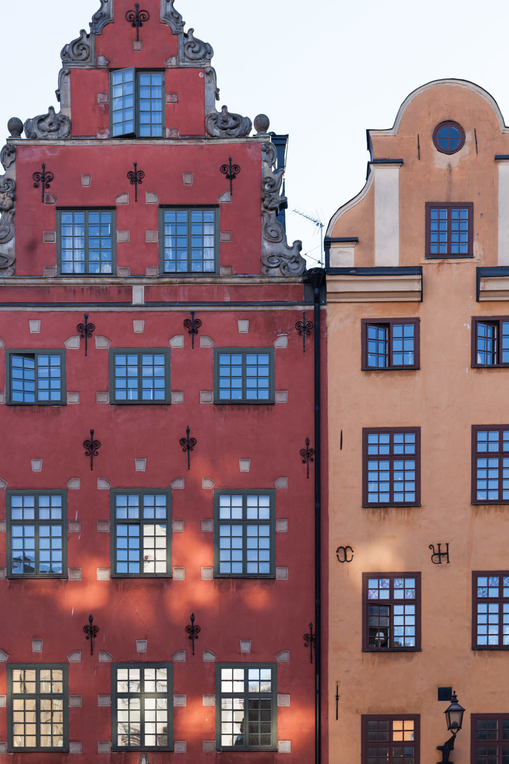 The signature facades in front of Nobel Museum at old town, showing up in many postcards.