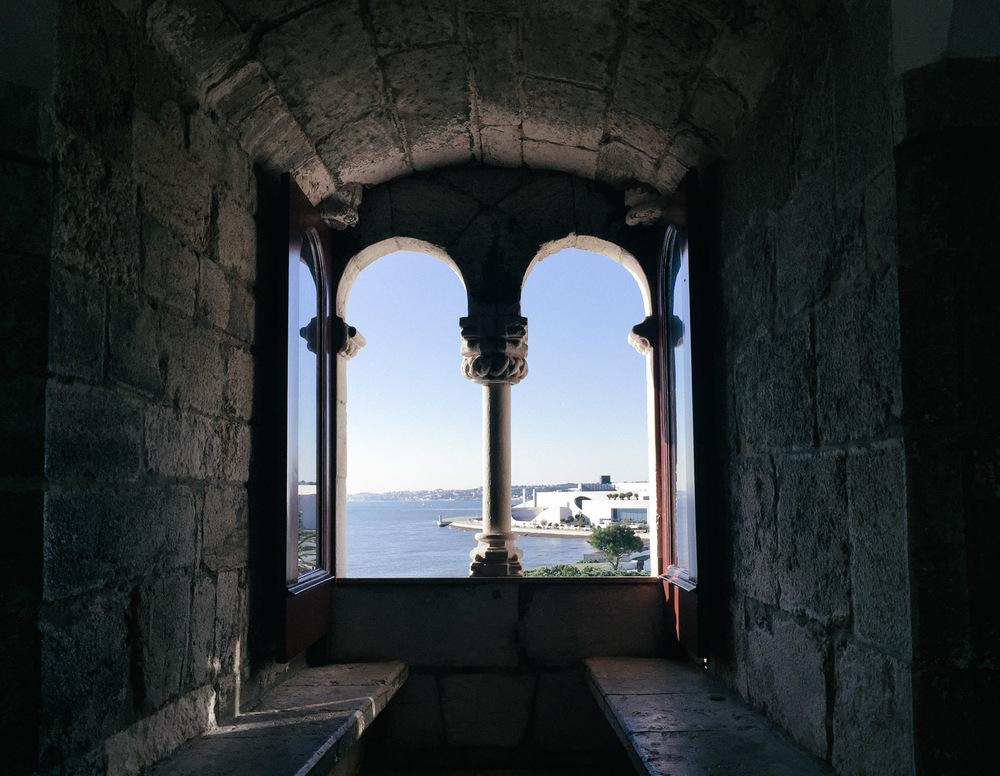 Inside   Torre de Belém