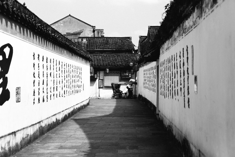 The streets are picturesque, a typical Southeast style that absorbed the deep Chinese culture.