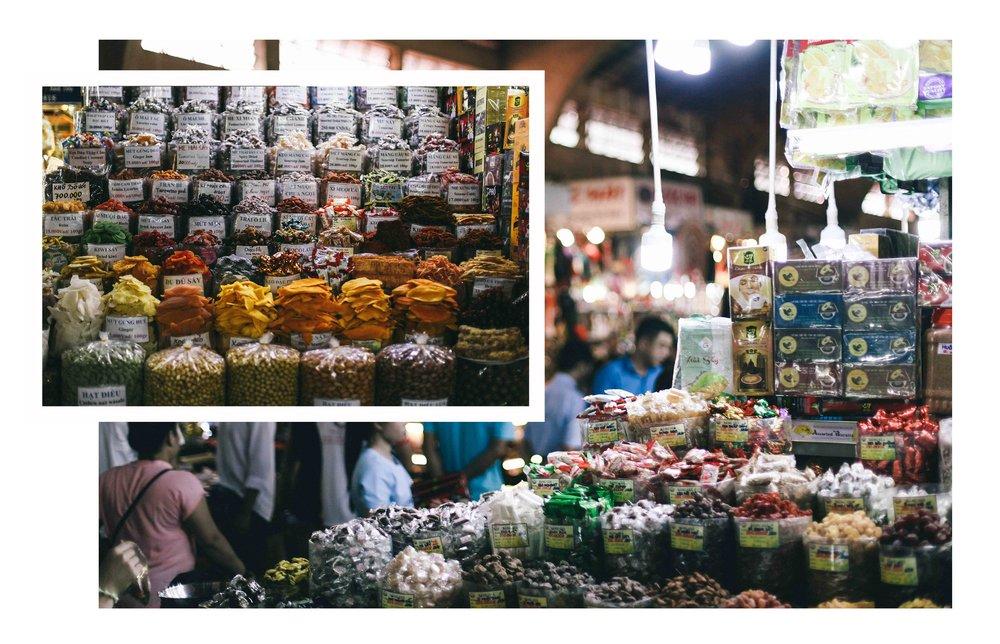 le sycomore Ben Thanh Market