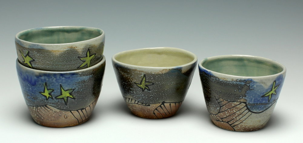 Starry Teacups