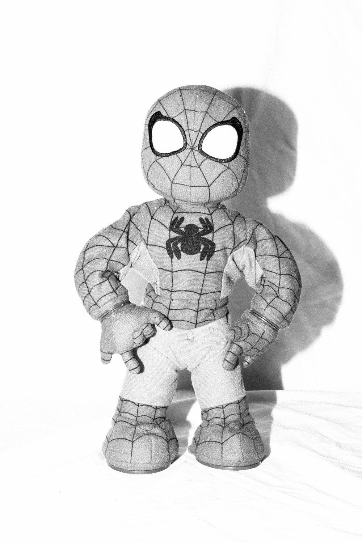 Spiderman. April 2017.