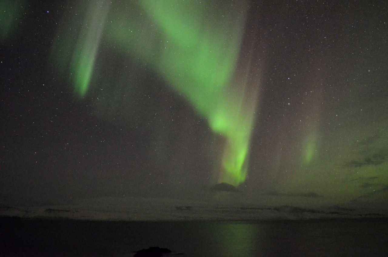 Iceland was full of firsts for me — one being the first time watching the aurora dance.