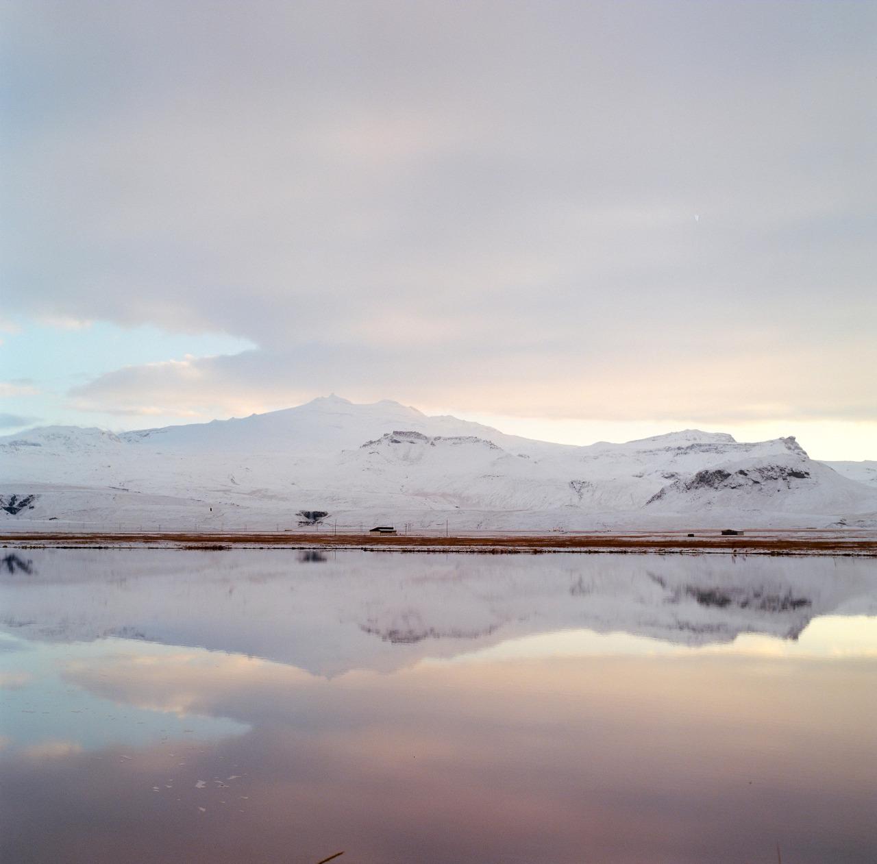 Snæfellsjökull.  Kodak Portra 400 // Hasselblad 500CM