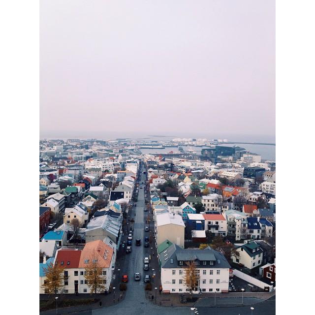 Downtown Reykjavík.