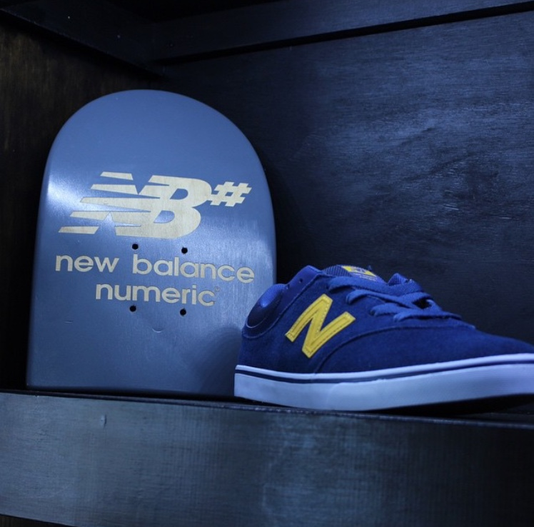 Designed and Manufactured  For New Balance