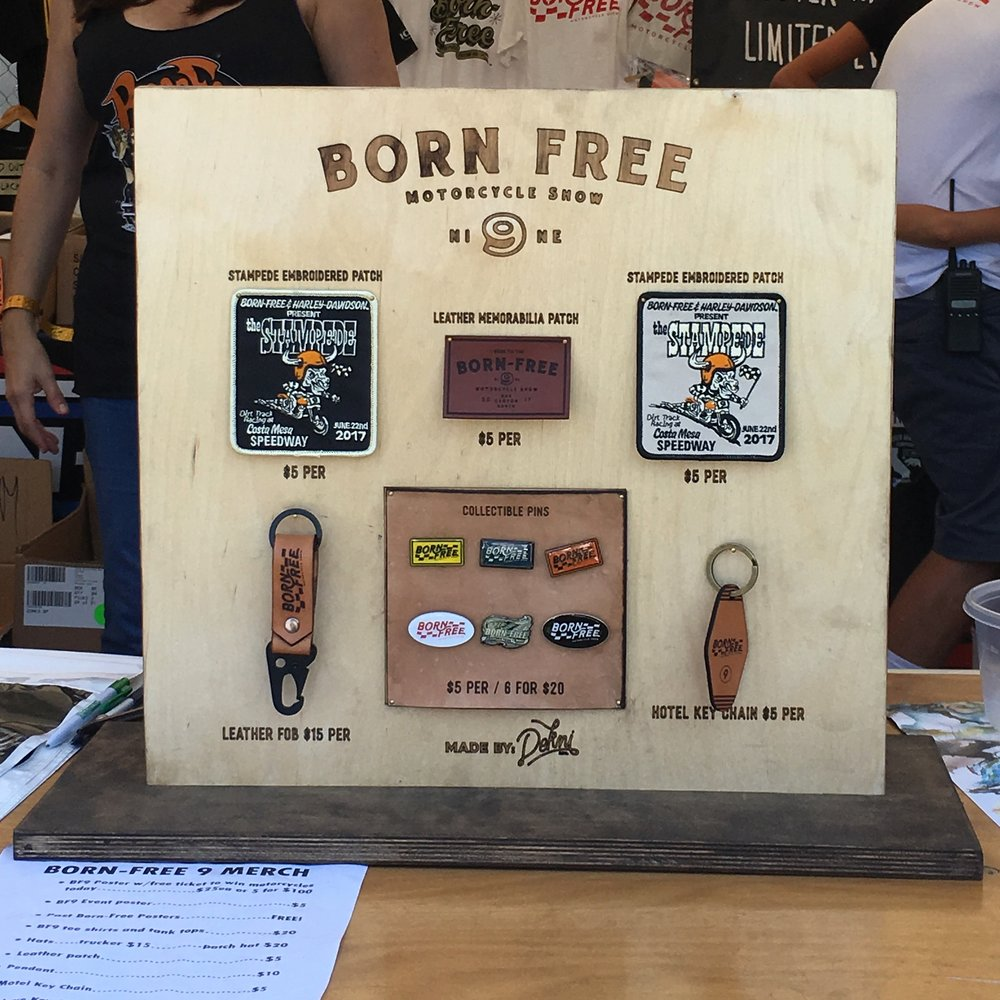 Point Of Sale We Made For the Merchandise we created for Born Free