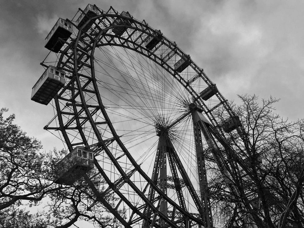 Riesenrad - where Harry Lime threatens Holly Martins