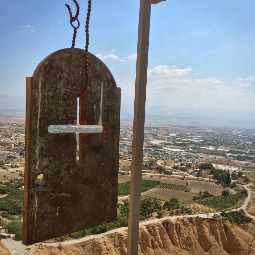 Overlooking Jericho.