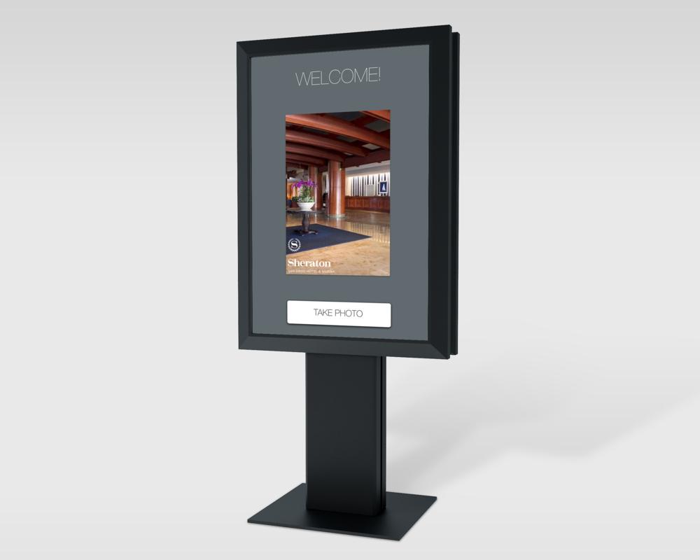 Sheraton - PHOTO KIOSK APP DESIGN/UX/UI/VISUAL