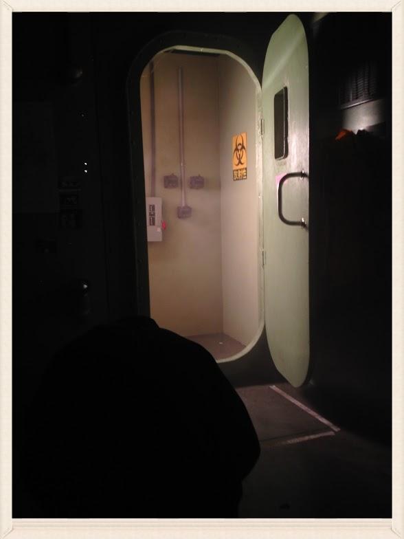 Beyond this door lies RED TIDE.