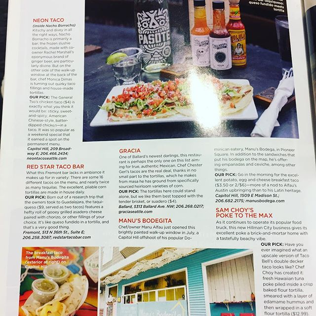 Seattle Mag's best taco recommendations for those of us on a religious quest. #eatwell #tacos @seattlemag