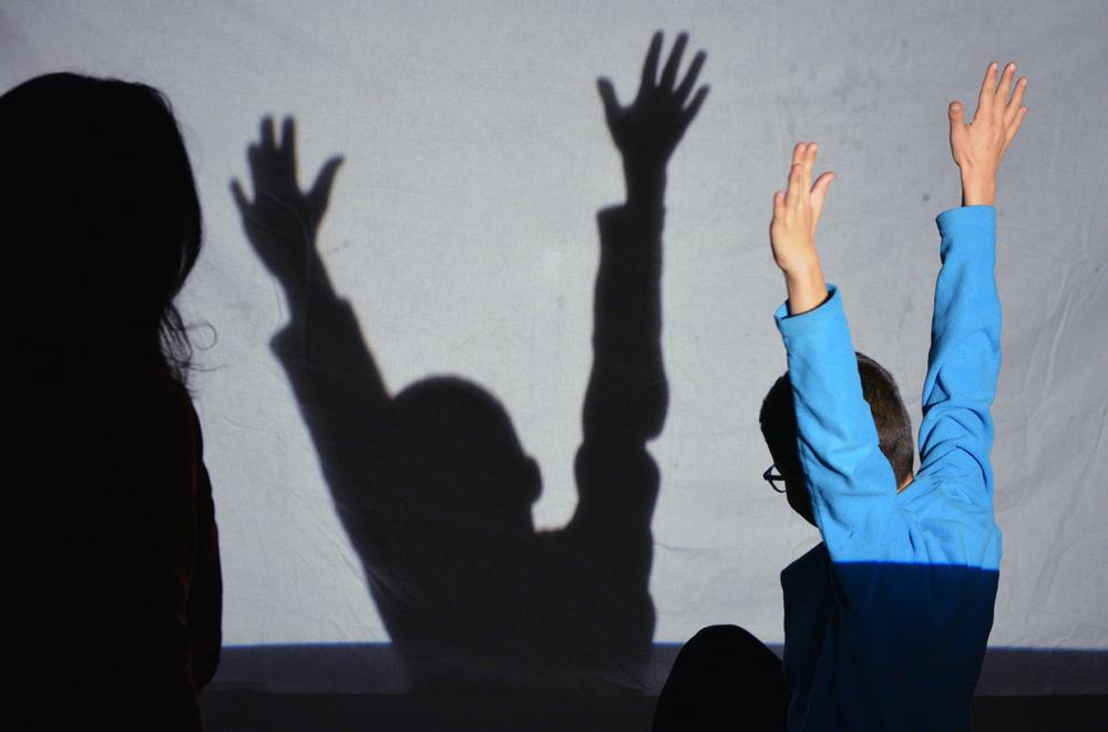 Chantier Transformation par l'Ombre et la Lumière à l'Ecole Elémentaire Karine mené par   Marie Wacker  et   Jenny Macquart  / Nov 15 Déc 16