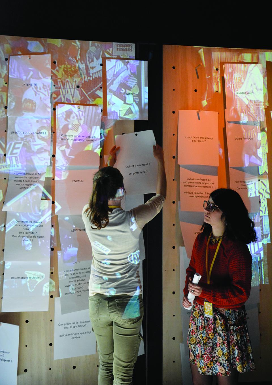 Chantier  Vivre et pratiquer la Biennale COI au quotidien        mené    M. Cros & C. Le Blay    mars 2018