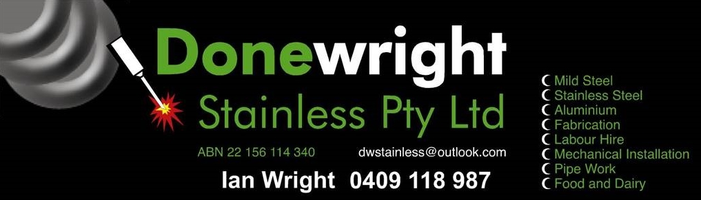 Donewright Stainless Pty Ltd