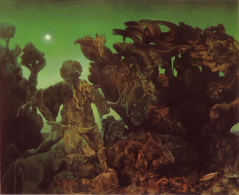 Max Ernst — L'épiphanie (1940)