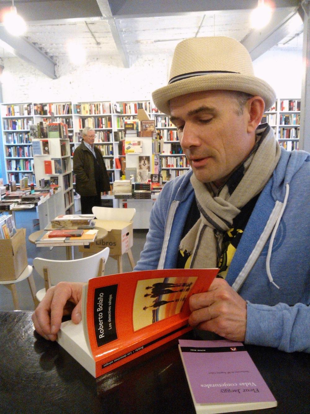 Danielewski à la librairie madrilène Los tipos infames, en 2014.