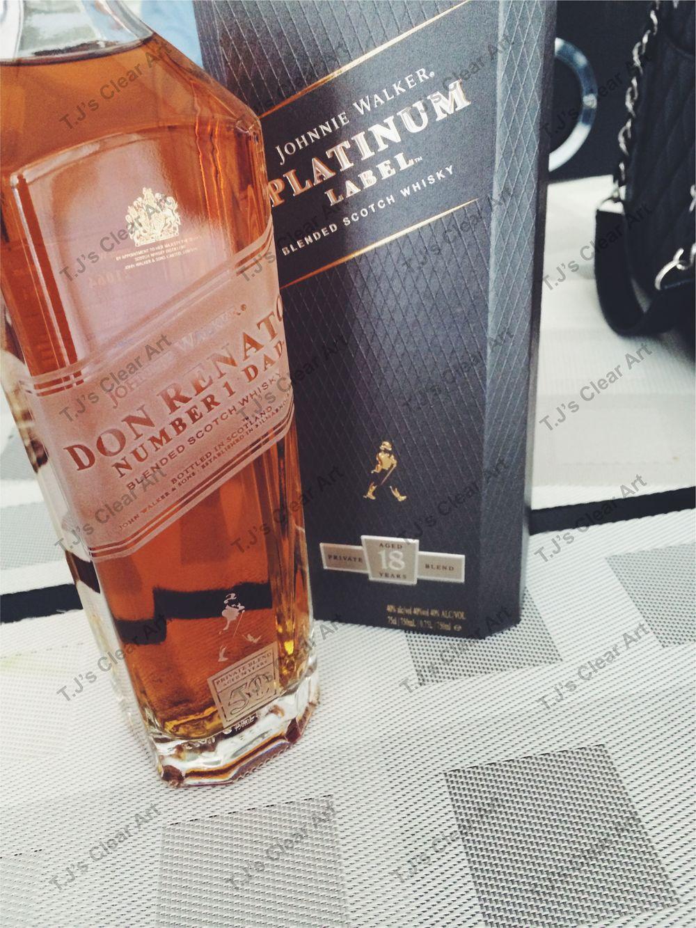 Personalized Platinum Label Bottle