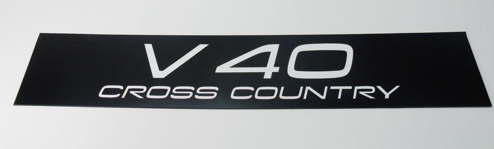 Customized Acrylic Car Plate