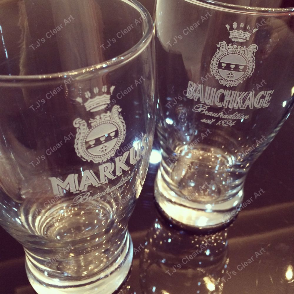 Customized Etched Glasses