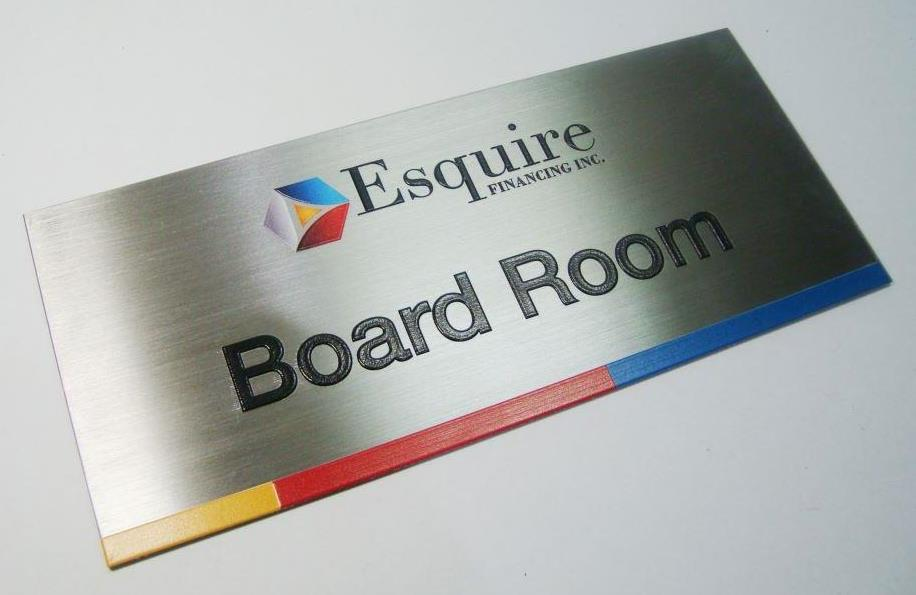 Stainless Indoor Signage