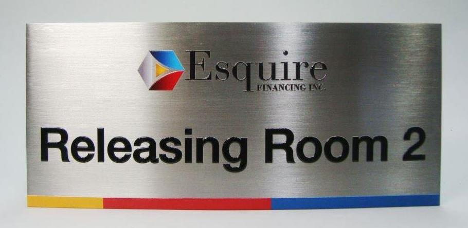 Stainless Door Signage