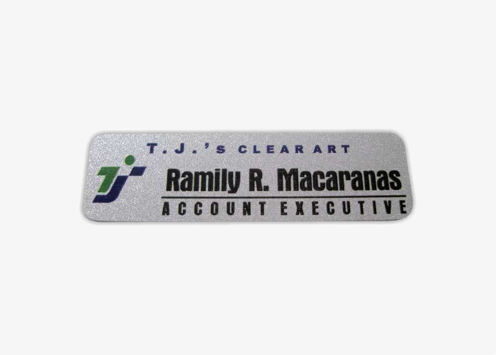 cutomized nameplate