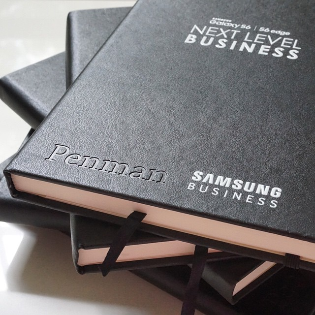 Customized Notebook Embossed - Samsung.jpg