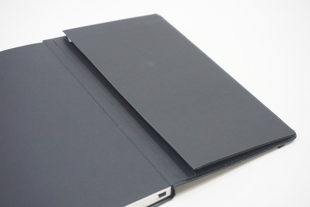 Customized Moleskine Type Leather Notebook