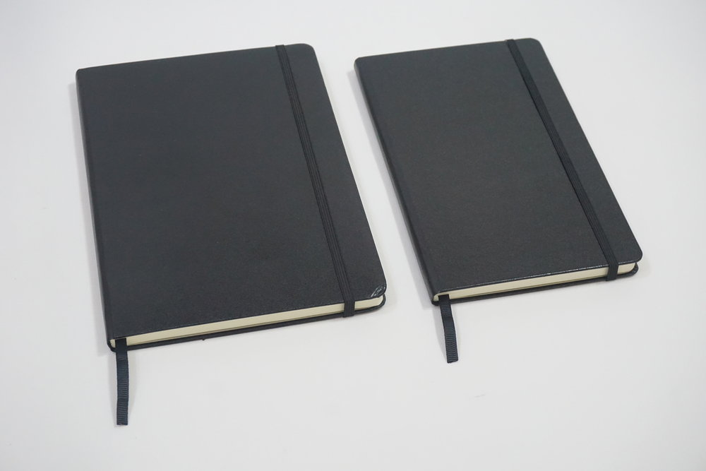 Personalized Moleskine Type Leather Open Date Planner