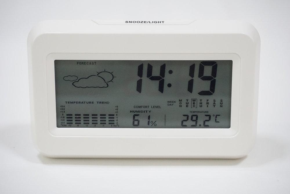 Customized Digital Desk Clock - TJ's Clear Art
