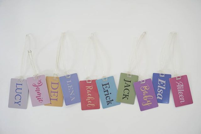 Bag Tags #tjsclearart