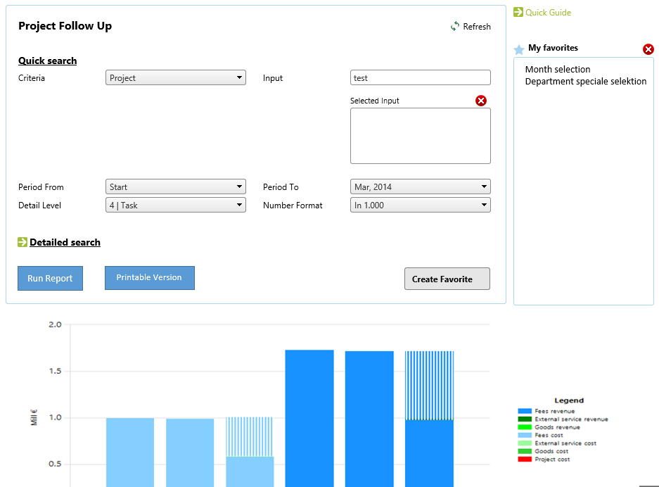 Configurable selections for any Microsoft Reporting Service Report