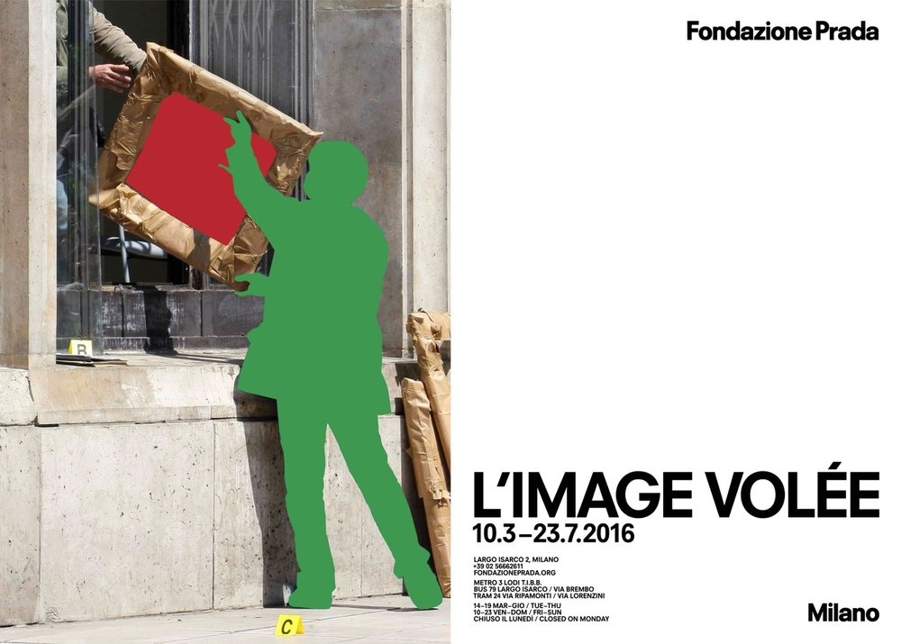 L'image volée - 10 March - 23 July 2016Fondazione PradaMilan, Italycurated by Thomas Demandcatalogue